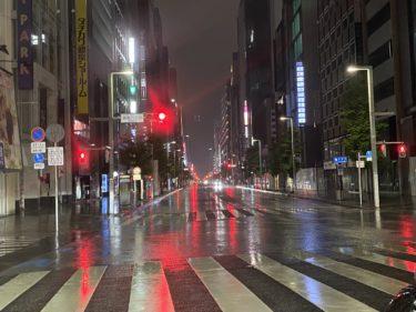 乗務日報 5月18日(月)40日ぶりの東京タクシー乗務復帰戦