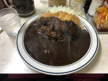 神保町「キッチン南海」濃厚なカツカレー